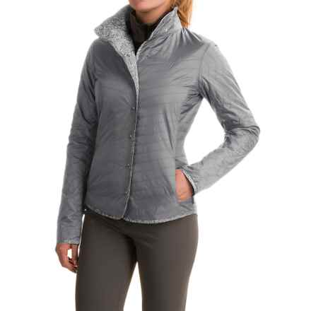 Mountain Hardwear Trekkin Shirt Jacket - Insulated (For Women) in Steam - Closeouts
