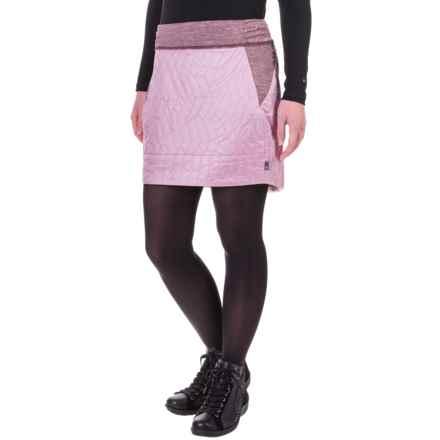 Mountain Hardwear Trekkin Skirt - Insulated (For Women) in Dusty Orchid - Closeouts