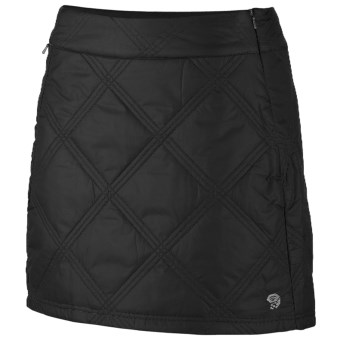 Mountain Hardwear Trekkin Skirt - UPF 50, Insulated (For Women) in Black