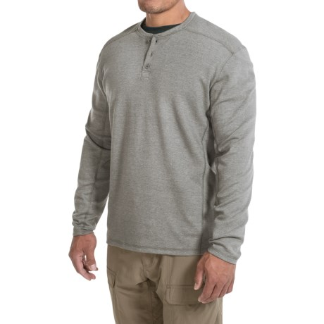 Mountain Hardwear Trekkin Thermal Henley Shirt UPF 15, Long Sleeve (For Men)