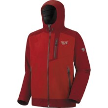 Mountain Hardwear Trice Dry.Q Elite Jacket - Waterproof (For Men) in Red/Thunderbird Red - Closeouts