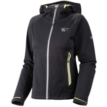 Mountain Hardwear Trinity Dry.Q Core Jacket - Waterproof, Soft Shell (For Women) in Black - Closeouts