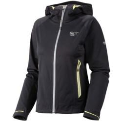 Mountain Hardwear Trinity Dry.Q Core  Soft Shell Jacket - Waterproof (For Women) in Sea Level