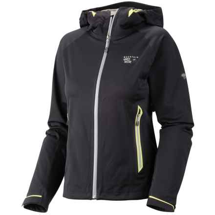 Mountain Hardwear Trinity Dry.Q® Core  Soft Shell Jacket - Waterproof (For Women) in Black - Closeouts