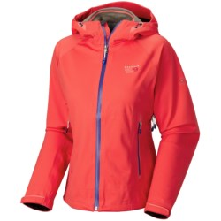 Mountain Hardwear Trinity Dry.Q® Core  Soft Shell Jacket - Waterproof (For Women) in Black