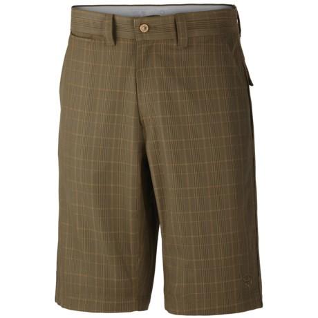 Mountain Hardwear Trotter Trunk Shorts - UPF 30 (For Men) in Peat Moss