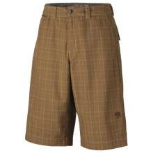 Mountain Hardwear Trotter Trunk Shorts - UPF 30, Recycled Materials (For Men) in Khaki - Closeouts