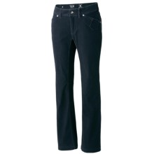 Mountain Hardwear Tunara Pants - Stretch Corduroy (For Women) in Abyss - Closeouts