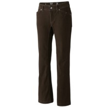 Mountain Hardwear Tunara Pants - Stretch Corduroy (For Women) in Cordovan - Closeouts