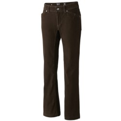 Mountain Hardwear Tunara Pants - Stretch Corduroy (For Women) in Khaki
