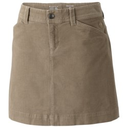Mountain Hardwear Tunara Skirt - Stretch Corduroy (For Women) in Khaki