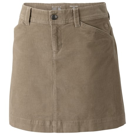 Mountain Hardwear Tunara Skirt - Stretch Corduroy (For Women) in Khaki