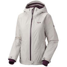 Mountain Hardwear Turnagain Dry.Q Core Jacket - Waterproof, Insulated (For Women) in Dolomite - Closeouts