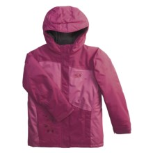 Mountain Hardwear Tuvalu Jacket - Insulated (For Girls) in Berry Soda/Cerise - Closeouts