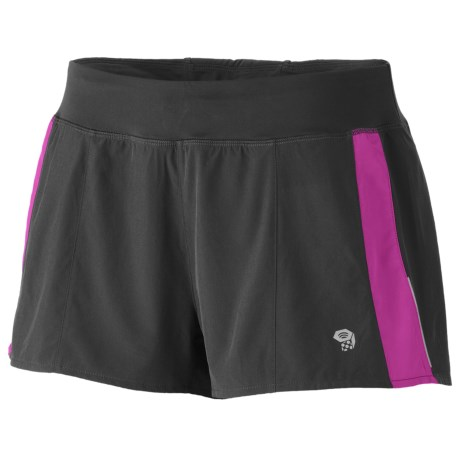 Mountain Hardwear Ultrapacer Shorts - UPF 30 (For Women) in Deep Blush