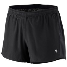 Mountain Hardwear Ultrarefuel Shorts - UPF 30 (For Men) in Black - Closeouts