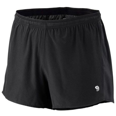 Mountain Hardwear Ultrarefuel Shorts - UPF 30 (For Men) in Graphite