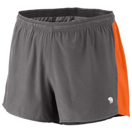 Mountain Hardwear Ultrarefuel Shorts - UPF 30 (For Men) in Graphite