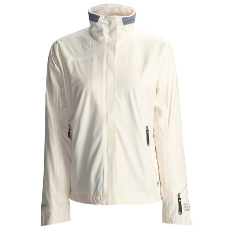 Mountain Hardwear Upstage  Soft Shell Jacket (For Women) in Winter White