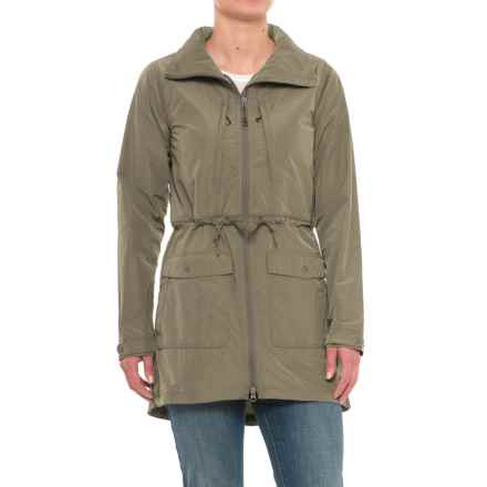 Mountain Hardwear Urbanite Parka (For Women) in Stone Green - Closeouts