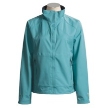 Mountain Hardwear Verglas Jacket - Conduit® Soft Shell (For Women) in Blue River - Closeouts