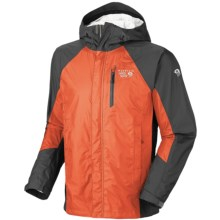 Mountain Hardwear Versteeg Dry.Q Core Jacket - Waterproof (For Men) in State Orange/Shark - Closeouts