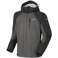 Mountain Hardwear Versteeg Dry.Q Core Jacket - Waterproof (For Men) in Titanium/Shark - Closeouts