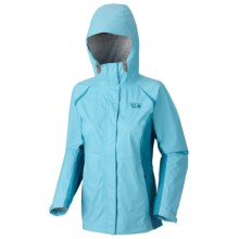 Mountain Hardwear Versteeg Dry.Q Core Jacket - Waterproof (For Women) in Dragonfly/Oxide Blue - Closeouts
