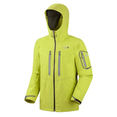 Mountain Hardwear Victorio Dry.Q Elite Jacket - Waterproof (For Men) in Voltage