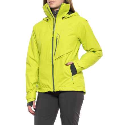 Mountain Hardwear Vintersaga Ski Jacket - Waterproof, Insulated (For Women) in Fresh Bud - Closeouts