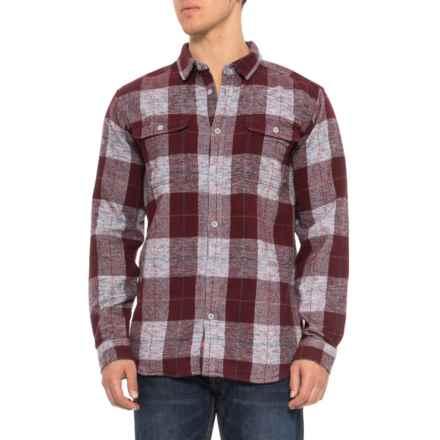 Mountain Hardwear Walcott Shirt - Long Sleeve (For Men) in Cote Du Rhone - Closeouts