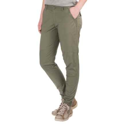 Mountain Hardwear Wandering Ankle Pants (For Women) in Stone Green - Closeouts