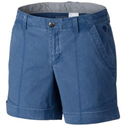 Mountain Hardwear Wanderland Shorts (For Women) in Impulse Blue