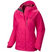 Mountain Hardwear Wandra Dry.Q® Core Jacket - Waterproof (For Women) in Bright Rose - Closeouts