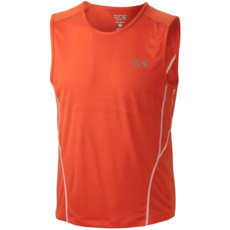 Mountain Hardwear Way2Cool Tank Top (For Men) in State Orange
