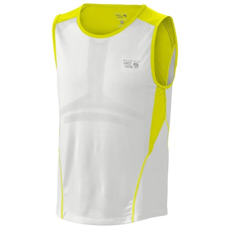 Mountain Hardwear Way2Cool Tank Top (For Men) in Zour