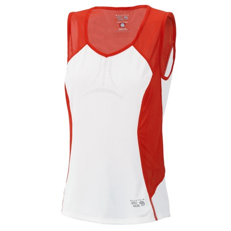 Mountain Hardwear Way2Cool Tank Top (For Women) in Poppy Red