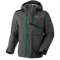 Mountain Hardwear Whole Lotta Dry.Q® Core Jacket - Waterproof (For Men) in Black