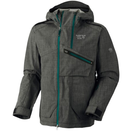 Mountain Hardwear Whole Lotta Dry.Q Core Jacket - Waterproof (For Men) in Black