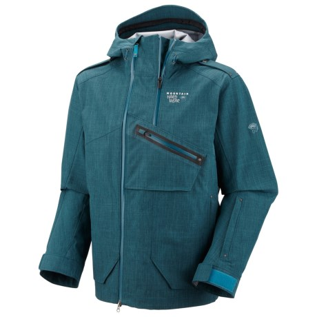 Mountain Hardwear Whole Lotta Dry.Q Core Jacket - Waterproof (For Men) in Deep Water