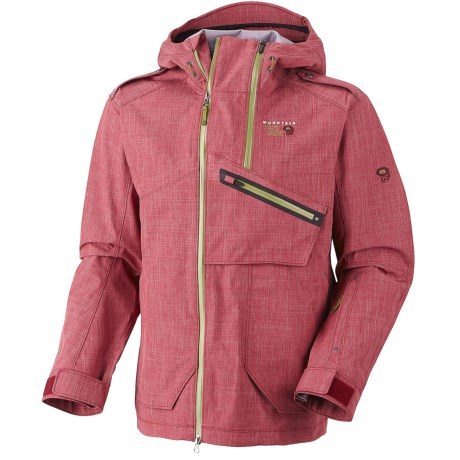 Mountain Hardwear Whole Lotta Dry.Q Core Jacket - Waterproof (For Men) in Jester Red