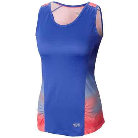 Mountain Hardwear Wicked Electric Tank Top - UPF 15 (For Women) in Cornflower - Closeouts