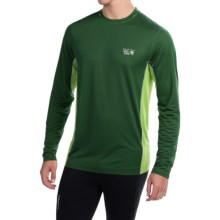 Mountain Hardwear Wicked Lite T-Shirt - UPF 15, Long Sleeve (For Men) in Forest - Closeouts
