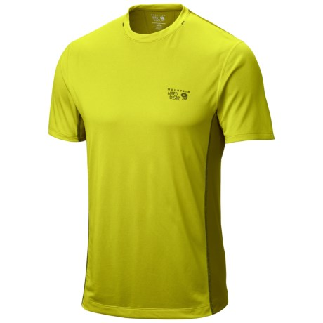 photo: Mountain Hardwear Wicked Lite Short Sleeve T short sleeve performance top