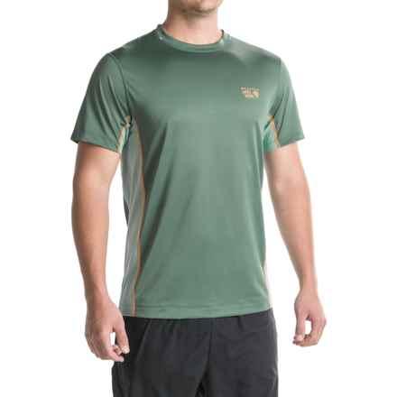 Mountain Hardwear Wicked Lite T-Shirt - UPF 15, Short Sleeve (For Men) in Thunderhead Grey - Closeouts