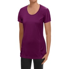 Mountain Hardwear Wicked Lite T-Shirt - UPF15, Short Sleeve (For Women) in Dark Raspberry - Closeouts