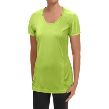 Mountain Hardwear Wicked Lite T-Shirt - UPF15, Short Sleeve (For Women) in Fission - Closeouts