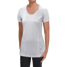 Mountain Hardwear Wicked Lite T-Shirt - UPF15, Short Sleeve (For Women) in White - Closeouts