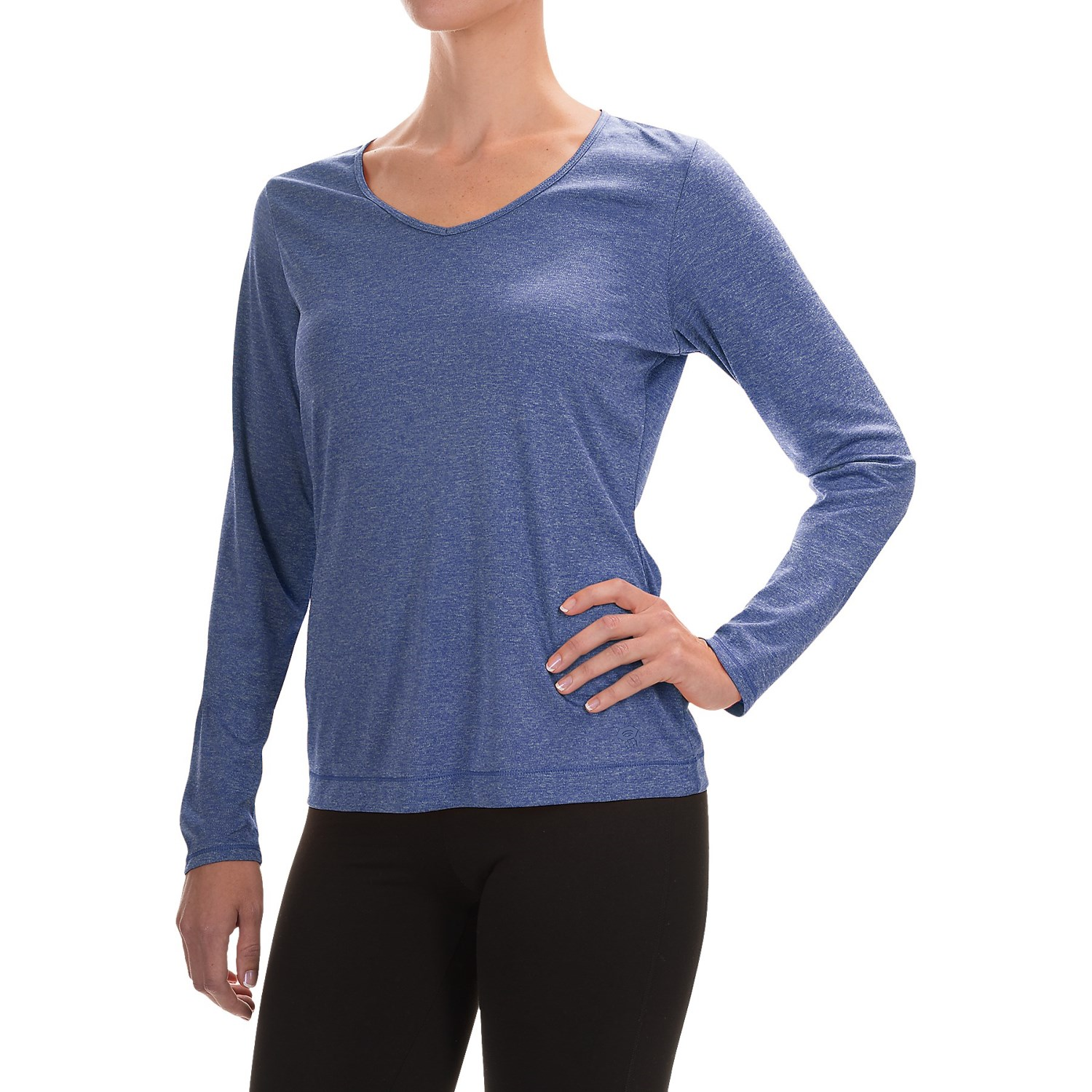 Mountain hardwear wicked printed t shirt for women for Lightweight breathable long sleeve shirts