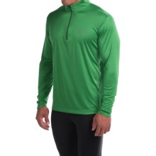 Mountain Hardwear Wicked Shirt - Zip Neck, Long Sleeve (For Men) in Serpent Green - Closeouts